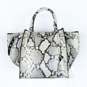 Python print leather Bag